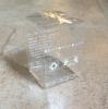 Cajas de encargo con el cuadrado del envase de plástico del claro de la insignia