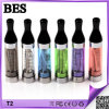 EGO Electronic Cigarette, Burn 없음 Taste, League 없음을%s Selling 최신 Atomzier T2 Clearomizer