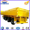 4 Axles Side Wall Flatbed Semi Truck Superlink Interlink Trailer card