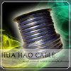 1 / 0AWG-18AWG медь / ОСО матовый, проводник / Прозрачный ПВХ оболочка кабеля питания автомобилей