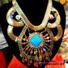 方法宝石類の金によってめっきされるネックレス、人(BDF9125)のための新しい宝石類