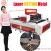 Máquina que corta con tintas de la escritura de la etiqueta de poco ruido del laser de Bytcnc