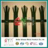 Панель загородки ковки чугуна загородки Palisade PVC Coated