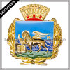 2015 New Design Gold Pin /Cheap Custom Enamel Badge (BYH-10792)