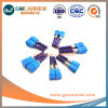 12X45X75HRC45-65 de carburo sólido flauta 6 molinos de extremo plano