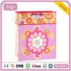 Rosafarbenes Blumen-Muster-Bekleidungsgeschäft-Kunst-überzogenes Geschenk-Papierbeutel