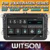 Witson Windows Rádio leitor de DVD estéreo para a Volkswagen Series Nova Versão