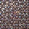 Rainbow Vidrio Color Mix Café Color de mosaico de piedra (CS013)