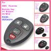 De Sleutel van de auto voor AutoGmc Hummer met 4 FCC van Knopen 315MHz identiteitskaart: Ouc60270