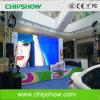 Écran polychrome de la location DEL de petit espacement des pixels de Chipshow P4