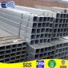 Pipa de acero cuadrada galvanizada soldada con autógena ERW suave Q235 del acero 25m m