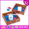 Giochi esterni di legno superiori W01A210 dei capretti e degli adulti di modo