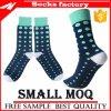 Kundenspezifische Socke mit Firmenzeichen-Mann-Geschäfts-Socken-Kleid-Socken