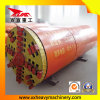 システムトンネルのボーリング機械を持ち上げる管