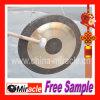 Gong chinois/gong de Chao avec le bâton de stand et de maillet