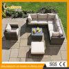 현대 고아한 옥외 정원 가구 등나무 의자 로비 소파 세트를 다중 사용한다