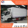 Camion freddo di memoria e del trasporto del Ghiaccio-Crame congelato LHD di JAC 4X2