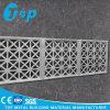 Panneau perforé en aluminium de façade de fabrication en métal pour le mur extérieur