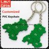 Верхний PVC Keychain таможни надувательства с промотированием