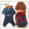 Motif de la neige en hiver Les Chiens Petit chien de vêtements en coton pour l'hiver haut Paw chien chiot vêtements Vêtements