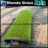 プラスチックを持つ16800tuft密度の庭の芝生