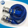 Assemblea di tubo flessibile di scarico dell'acqua del PVC di Layflat con i montaggi della serratura della camma