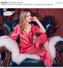 Pijamas de seda Sy10306809 das mulheres sexy do Nightwear da roupa de noite das senhoras da roupa interior
