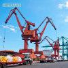 Single Girder mast mobile container Crane