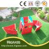 Durable et pelouse artificielle professionnel pour un terrain de jeux