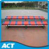 Portable del banco de la gimnasia del metal con el asiento plástico