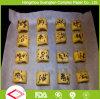 La silicona tratada hoja de papel para hornear galletas