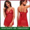 Ruban rouge de bonne qualité Bowknot dentelle lingerie sexy pour les femmes