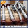 De aço inoxidável resistente à corrosão de borracha de metal com a extremidade do flange