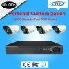 sistemas impermeables al aire libre de las cámaras de seguridad del CCTV de 1080P 4channel Sdi