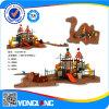 Cour de jeu extérieure de 2014 enfants de plastique commerciaux de jardin d'enfants
