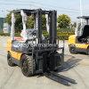 3 positionierte Mast 5 Tonnen China hergestellte Rad-Gabelstapler-