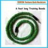 6 [أنتي-سنب] قدم طويلة تدريب مقاومة نطق مع كم يحمى في اللون الأخضر