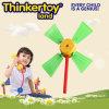 Giocattolo di plastica del gioco del giardino del mulino a vento mini