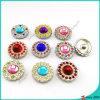 よじ登りなさいLeather Bracelet Jewelry (B16041817)のためのStone Snap Buttonsを