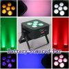 5 los x 6in 1 luz ULTRAVIOLETA de la IGUALDAD de la etapa de la etapa Lighting/LED de la batería de RGBWA 90W DMX
