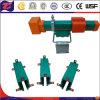 Trilhas elétricas incluidas do trilho do guindaste da carcaça do PVC
