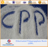 La poudre de résine en polypropylène blanc de la résine du RPC chlorés
