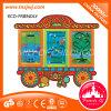Het kleurrijke Houten Speelgoed van Montessori van de Jonge geitjes van het Stuk speelgoed van de Intelligentie