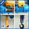 Élévateur électrique de câble métallique d'élévateur de grue avec le chariot électrique