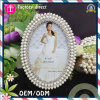 Hand ovale Carved New Model Photo Frame con Iron Material