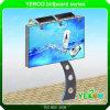 Publicidad Mupis Solar barata y la calidad de los grandes polos vallas de piscina