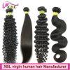 Различные текстуры волос Virgin бразильского сырья для волос