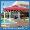 Parapluie de Sun carré en aluminium moderne de patio pour le jardin/plage extérieurs