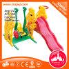 В сочетании детский пластиковый поворота небольшой слайд для продажи