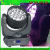 lumière principale mobile du lavage DEL de faisceau de 12W X de 19PCS RGBW DMX